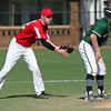 Lutheran West shortstop Scottie Berghaus comes in behind Leighton Banjoff at second base. Randy Meyers -- The Morning Journal