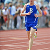 Broomfield High School's Ben Ben Forsee turns the corner near the front of the pack in the 4A boys 3200 run during the 2012 State Track and Field Championships Friday, May 18, 2012 at Jeffco Stadium in Lakewood.<br /> (Matthew Jonas/Times-Call)
