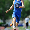 Longmont High School's Forrest Wetterstrom leaps from the line in the 4A boys long jump during the 2012 State Track and Field Championships Friday, May 18, 2012 at Jeffco Stadium in Lakewood.<br /> (Matthew Jonas/Times-Call)