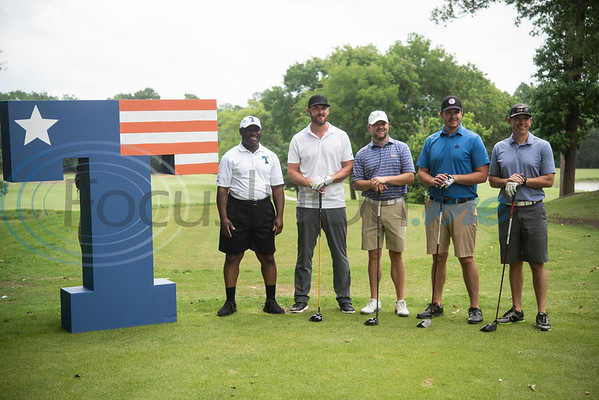 People golf during the Patriot Golf Classic Tournament at Hollytree Country Club in Tyler on Monday May 20, 2019.   (Sarah A. Miller/Tyler Morning Telegraph)