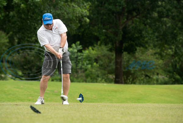 Jeff Austin III tees on No. 14 at the Patriot Golf Classic Tournament at Hollytree Country Club in Tyler on Monday May 20, 2019.   (Sarah A. Miller/Tyler Morning Telegraph)