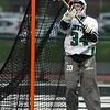 Westlake goalie Lauren Guay deflects a shot on goal by St. Joseph Academy. Randy Meyers -- The Morning Journal