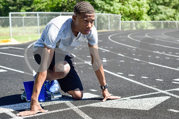 Malik Sellers poses for a portrait at Chapel Hill High School in Tyler, Texas, on Friday, May 5, 2017. Will be competing in at state in Austin, Texas. (Chelsea Purgahn/Tyler Morning Telegraph)