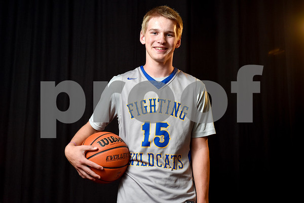 Joshua Shipman poses for a portrait at the Tyler Morning Telegraph in Tyler, Texas, on Monday, May 8, 2017. Joshua is a freshman at Big Sandy High School and is the All-East Texas Boys Basketball Newcomer of the Year. (Chelsea Purgahn/Tyler Morning Telegraph)