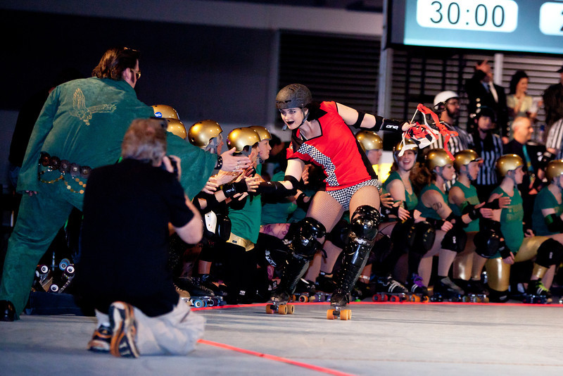 Betties v. High Rollers, First Half