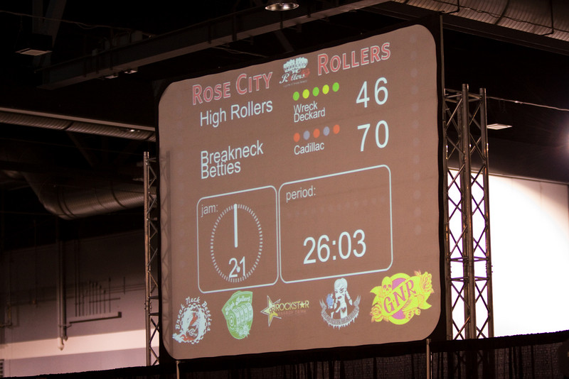 Betties v. High Rollers, Second Half