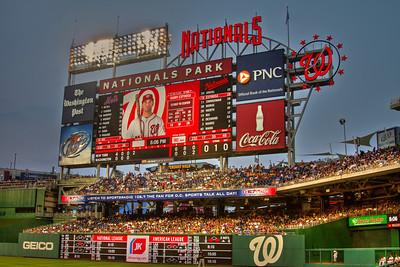6-29-11 Washington Nationals 5, New York Mets 8, At Nationals Stadium