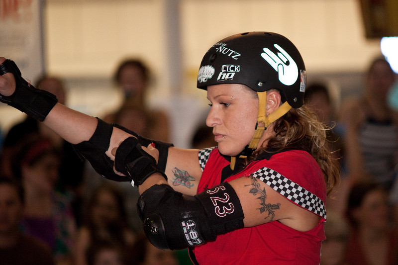 High Rollers v. Breakneck Betties, First Half