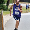 Brandon Backford fdinished first in the 5K road race to benefit the Boys & Girls Club of Fitchburg and Leominster on Saturday morning. /JOHN LOVE