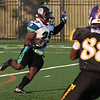 Ty Howell of the Nightmares returns a punt against the Indianapolis Tornados. Randy Meyers -- The Mornign Journal