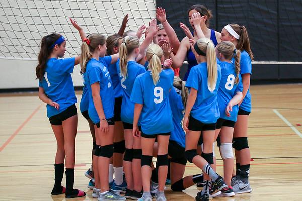 6th Grade Community Volleyball 9.23.17