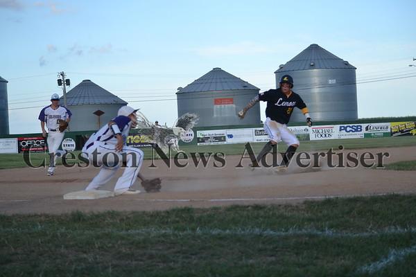 7-16 Nodaway Valley-Lenox district final baseball