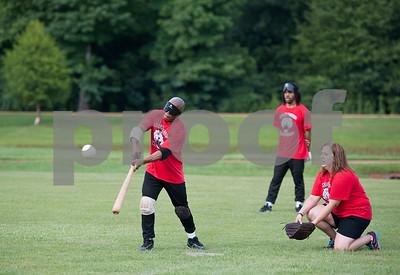 Beep Baseball Practice