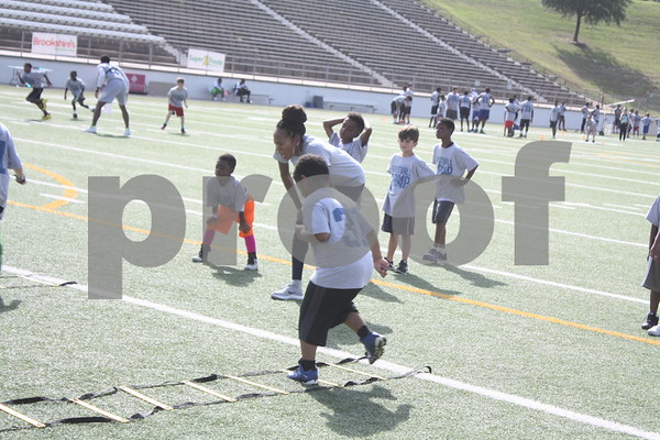 7/16/16 Aaron Ross Annual Football Camp by Carol Blaylock, Steve Mason, David Thomas & Sarah Miller
