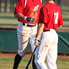 Tony Iero of the Ironmen is congratulated by Chase Knodle after scoring against Lima. Randy Meyers -- The Morning Journal