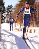 Mike Yeo (#169), and Charles Woodworth, both from Yarmouth, Maine, cross a bridge, during The 7th Annual White Mountain Classic 30K ski race, which was hosted by the Jackson Ski Touring Foundation, on January 22nd, 2011, in Jackson, NH. Over 200 competitors used the classic cross-country ski technique in a 30 kilometer (18.64 miles) marathon on the trail systems in and around Jackson Village.