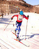 Tiffany Teaford, of Peru, Vermont, competes in The 7th Annual White Mountain Classic 30K ski race, which was hosted by the Jackson Ski Touring Foundation, on January 22nd, 2011, in Jackson, NH. Over 200 competitors used the classic cross-country ski technique in a 30 kilometer (18.64 miles) marathon on the trail systems in and around Jackson Village.