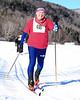 Bill Donahue, of Chester, New Jersey, competes in The 7th Annual White Mountain Classic 30K ski race, which was hosted by the Jackson Ski Touring Foundation, on January 22nd, 2011, in Jackson, NH. Over 200 competitors used the classic cross-country ski technique in a 30 kilometer (18.64 miles) marathon on the trail systems in and around Jackson Village.