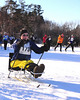 Nicole Haley, of Peterboro, NH, competes in The 7th Annual White Mountain Classic 30K ski race, which was hosted by the Jackson Ski Touring Foundation, on January 22nd, 2011, in Jackson, NH. Over 200 competitors used the classic cross-country ski technique in a 30 kilometer (18.64 miles) marathon on the trail systems in and around Jackson Village.