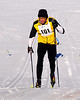 Nat Lucy, of Intervale, NH, competes in The 7th Annual White Mountain Classic 30K ski race, which was hosted by the Jackson Ski Touring Foundation, on January 22nd, 2011, in Jackson, NH. Over 200 competitors used the classic cross-country ski technique in a 30 kilometer (18.64 miles) marathon on the trail systems in and around Jackson Village.