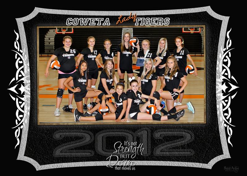 7th vball team