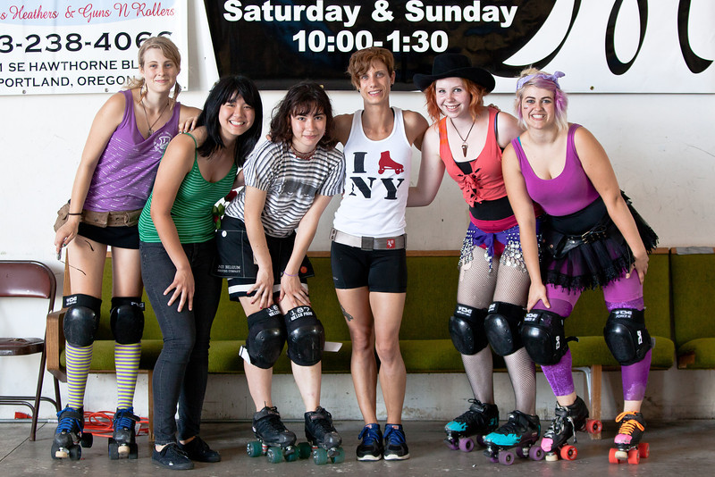 Saturday Scrimmage, Bonnie Thunders & Rosebuds