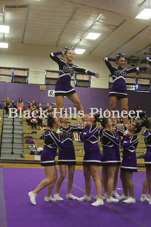 8-30-18 Dance and cheer @ Belle Fourche