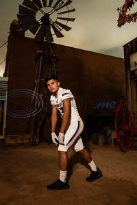 Carlisle High School Louie Garza (13).  (Cara Campbell/Tyler Morning Telegraph)