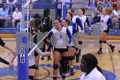 8/23/16 Grace Community School Volleyball vs Winona High School by Lisa Pierce