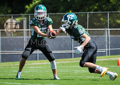 8.25.19 Green Hornets 14U A football vs. Cape
