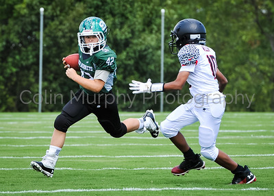 8.25.19 Green Hornets 14U B Football vs. Severn