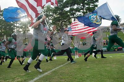 8/27/16 T K Gorman Catholic School Football vs Garrison High School by Rolan Ranido & Sarah Miller