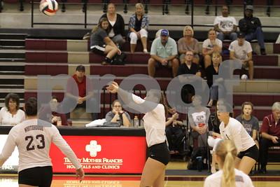 8/30/16 Whitehouse High School Volleyball vs Canton High School by Joey Corbett