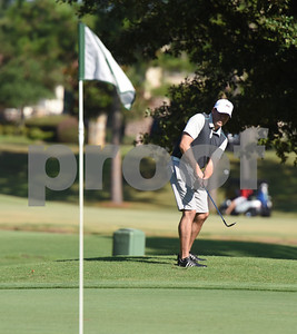 Tim Anthony shoots onto the 13th green during the Hollytree County Club Men's Club Championship Saturday August 6, 2016.  (Sarah A. Miller/Tyler Morning Telegraph)