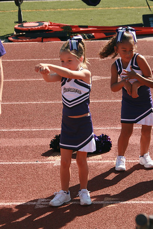 9-25-2010 Andrew & Reagan Football/Cheer