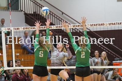 9-4-18 Pierre volleyball @ Spearfish