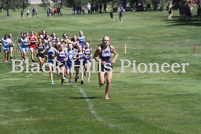 9-6-18 cross country @ Belle Fourche
