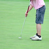 CU's Philip Jason Burstyn putts in the Mark Simpson Colorado Invitational at Colorado National Golf Course in Erie, Colorado September 24, 2012.  DAILY CAMERA/ MARK LEFFINGWELL