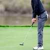 CU's Philip Derek Fribbs putts in the Mark Simpson Colorado Invitational at Colorado National Golf Course in Erie, Colorado September 24, 2012.  DAILY CAMERA/ MARK LEFFINGWELL