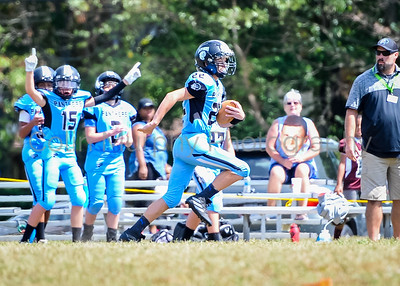 9.7.19 Panthers vs. Chargers 14U football