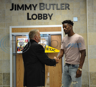 9/8/18 Media Conference with Jimmy Butler by Jessica Payne - focusinonme