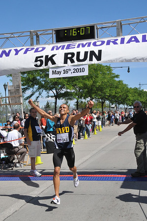 9th Annual NYPD Memorial Run May 16, 2010