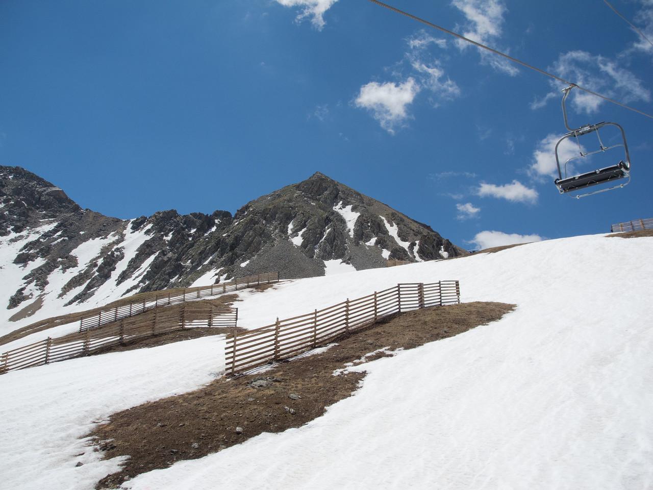 Colorado blue sky