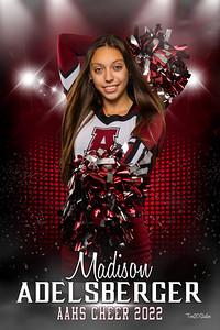 Madison Adelberger Altoona Cheer Senior Banner