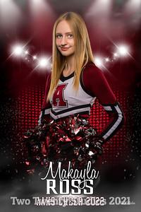 Makayla Ross Altoona Cheer Senior Banner