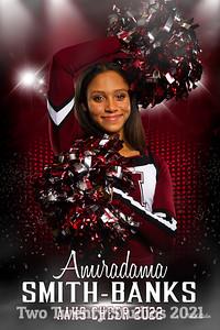 Amiradama Smith-Banks Altoona Cheer Senior Banner