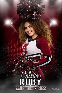 Caleigh Rudy Altoona Cheer Senior Banner