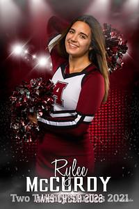 Rylee McCurdy Altoona Cheer Senior Banner