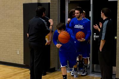 ACHS Basketball Playoffs 2013 vs Waco Vanguard