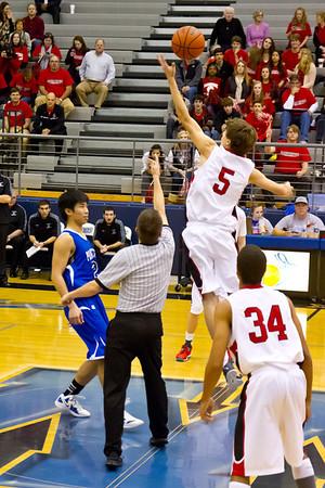 ACHS Basketball Playoffs vs Dallas Cambridge
